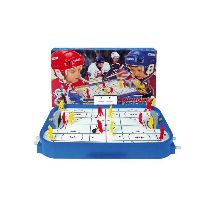 Hokej společenská hra plast v krabici 53x30,5x7cm