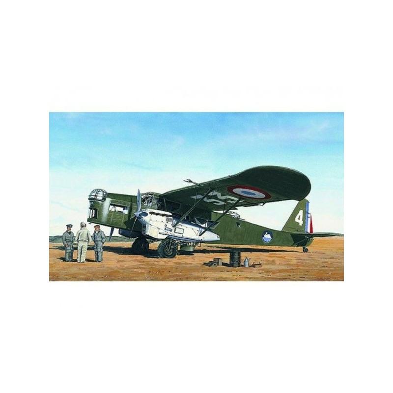 Model Potez 540 22,5x30,7cm v krabici 34x19x5,5cm