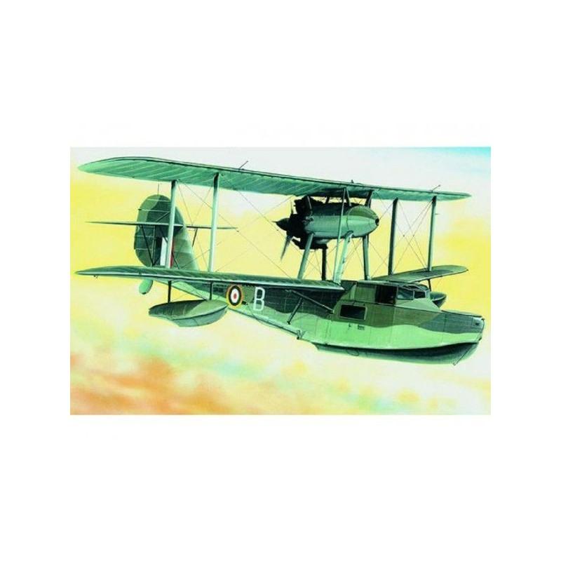 Model Supermarine Walrus 1:48 23,6x29cm v krabici 34x19x5,5cm
