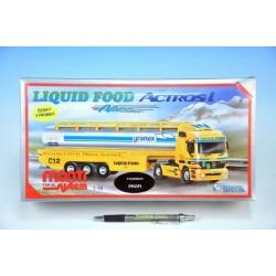 Stavebnice Monti 55 Liguid Food Actros L-MB 1:48 v krabici 31,5x16,5x8cm