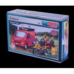 Stavebnice Monti 49 Enduro Renault Trafic 1:35 v krabici 22x15x6cm