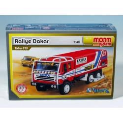 Stavebnice Monti 10 Rallye Dakar Tatra 815 1:48 v krabici 22x15x6cm
