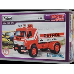 Stavebnice Monti 09 Petrol Liaz 1:48 v krabici 22x15x6cm