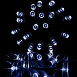 Vianočný svetelný dážď 600 LED studená biela - 15 m