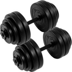 MOVIT 2 jednoručné činky s kotúčmi 30 kg