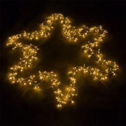 Vianočné LED osvetlenie 20 m -  teplá biela 200 LED