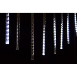 Vianočné dekoratívne osvetlenie - vodopádový efekt - studená biela