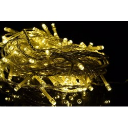 Vianočné LED osvetlenie 1,85 m - teplá biela 20 LED