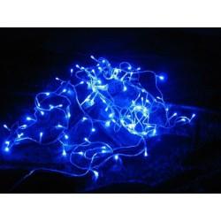 Vianočné LED osvetlenie 9 m - modré, 100 diód