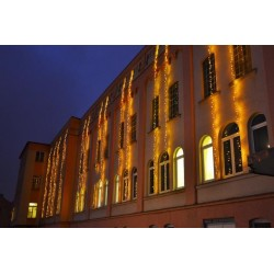 Vianočné LED osvetlenie 30 m - teplá biela, 300 diód