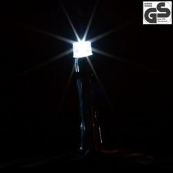 Vianočné LED osvetlenie 20 m - studená biela 200 LED - zelený kábel