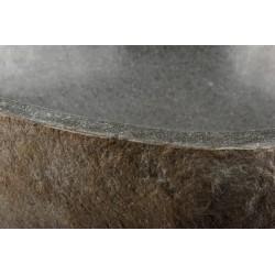 Umývadlo z prírodného kameňa Neapol DIVERO - na dosku