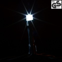 Vianočné LED osvetlenie 60 m - studená biela 600 LED - zelený kábel