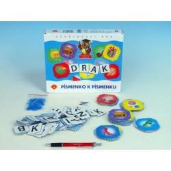Písmenko k písmenku společenská hra v krabici 24,5x25x4,5cm