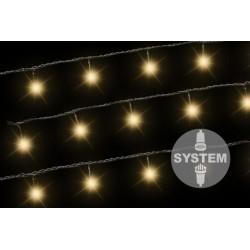 diLED svetelná reťaz - 40 LED teplá biela