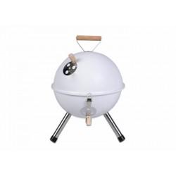 Záhradný vonkajší Mini - BBQ gril - biela