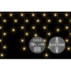 diLED sada - rozšíriteľný svetelný dážď so 180 LED diódami, systém LED XMAS