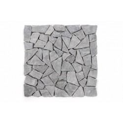 Mramorová mozaika Garth- sivá, obklady 1 m2
