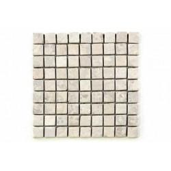 Mramorová mozaika Garth - krémová – obklady 1 m2