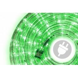 LED svetelný kábel 10 m - zelená, 240 diód