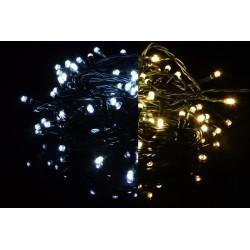 Vianočná svetelná reťaz 400 LED - 9 blikajúcich funkcií - 39,9 m